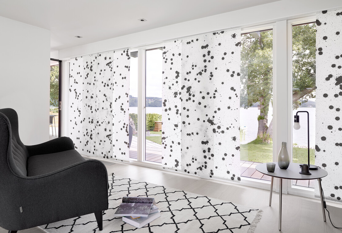 Yksilölliset paneeliverot myötäilevät huoneen väriteemaa