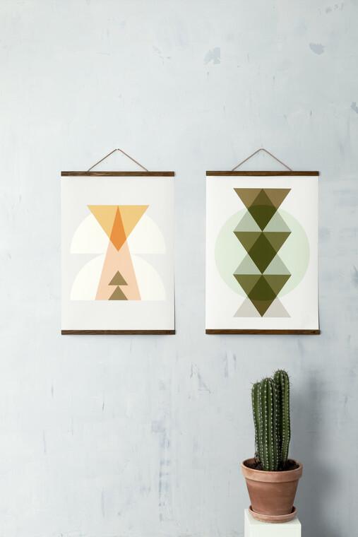 Sisustusjulisteilla voit helposti täydentää sisustuksen tyyliä tai luoda kontrasteja