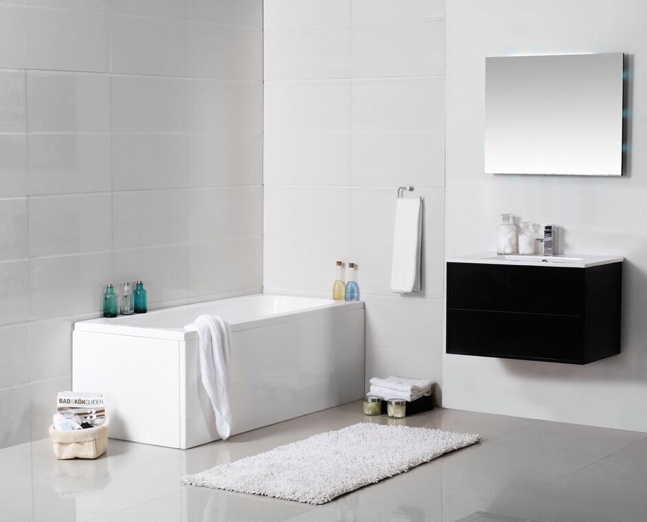 Tyyliä kylpyhuoneeseen modernilla, linjakkaalla kalustolla