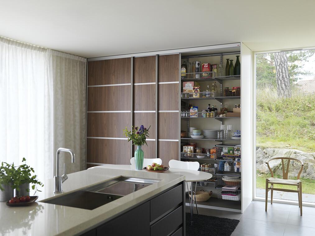 Oikein valitut säilytysratkaisut tekevät keittiöstä viihtyisän ja toimivan