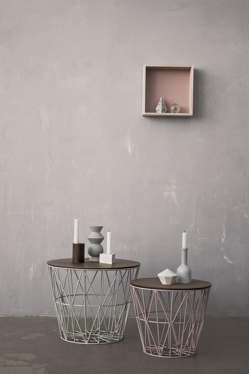 Geometriset muodot tuovat selkeää ja vakaata ilmettä kodin sisustukseen