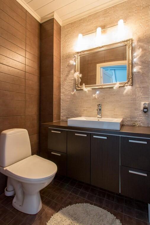 Moderni  kylpyhuone