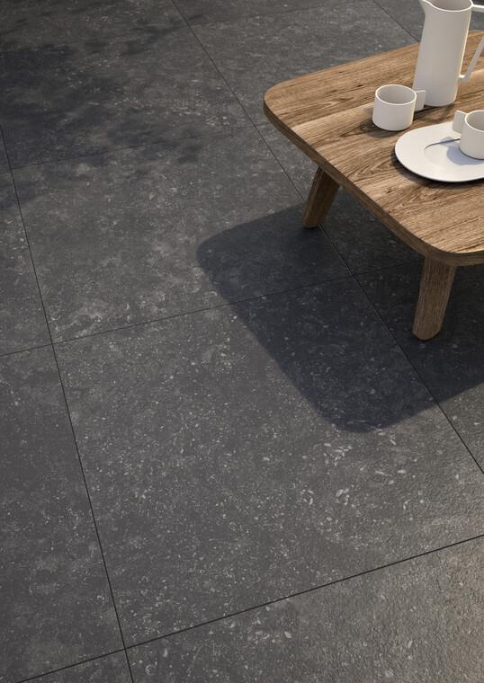 Suurikokoisista laatoista syntyy tyylikäs lattiapinta