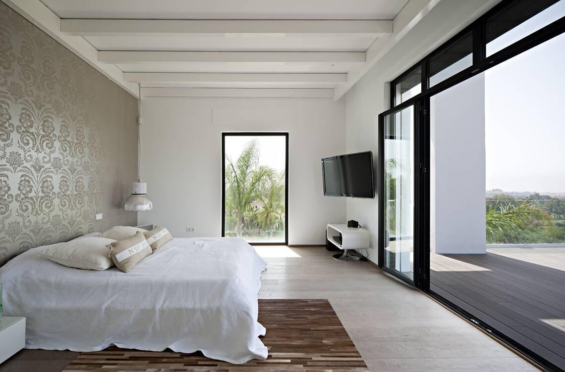 Moderni makuuhuone c22678
