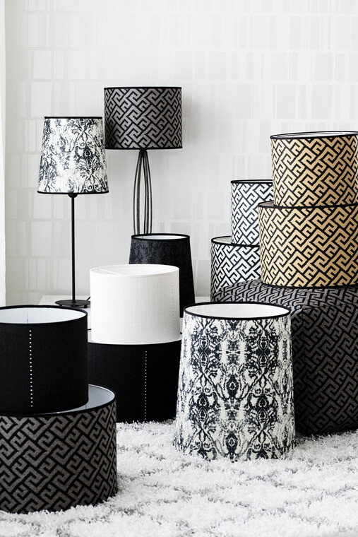 Tyylikkäät lampunvarjostimet antavat sisustukselle viimeistellyn ilmeen