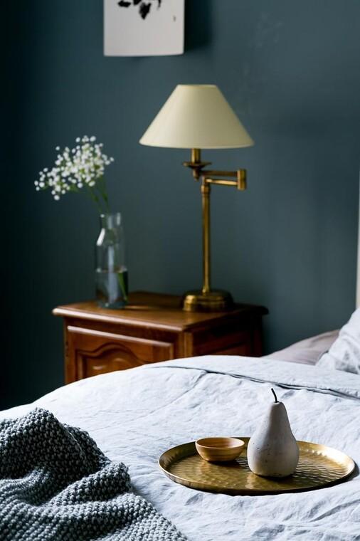 Kauniita yksityiskohtia makuuhuoneessa