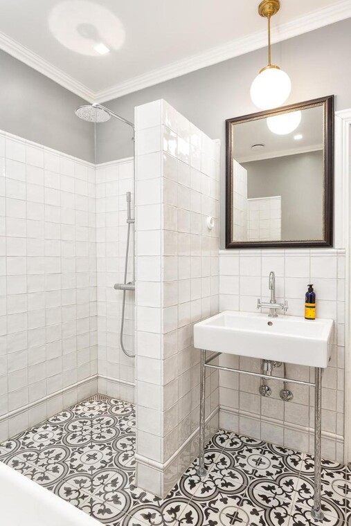 Skandinaavinen kylpyhuone