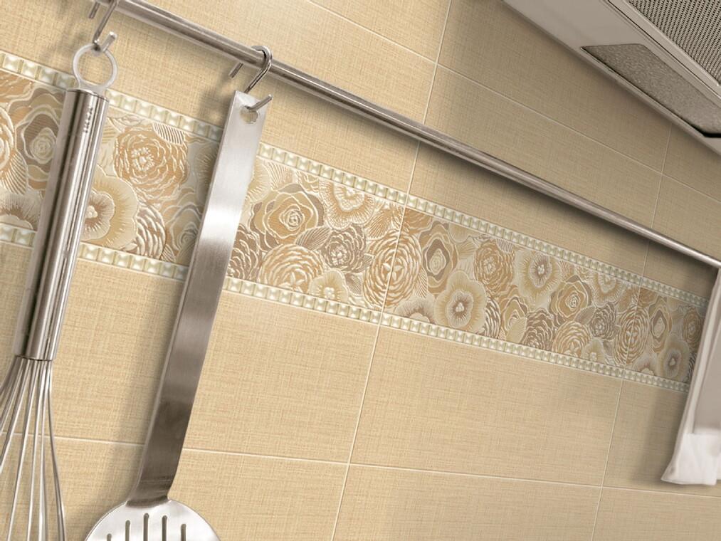 Kasbah-laatat tuovat kodin seinäpinnoille tekstiilimäisyyttä ja kukkakuvioita