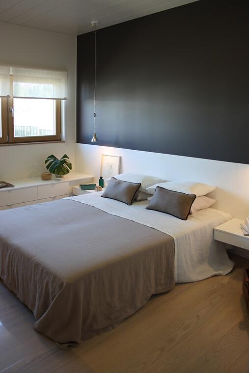 Makuuhuone kohteessa Kannustalo Lato, Asuntomessut 2014 Jyväskylä