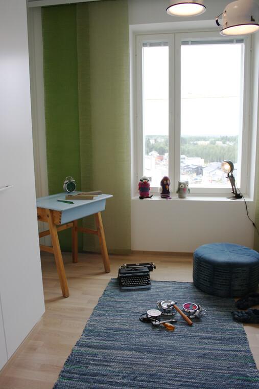 Lastenhuone kohteessa Kiertokoti, Asuntomessut 2014 Jyväskylä