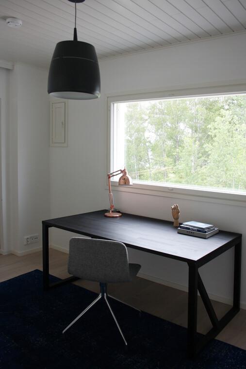 Työhuone kohteessa Villa Muurame, Asuntomessut 2014 Jyväskylä