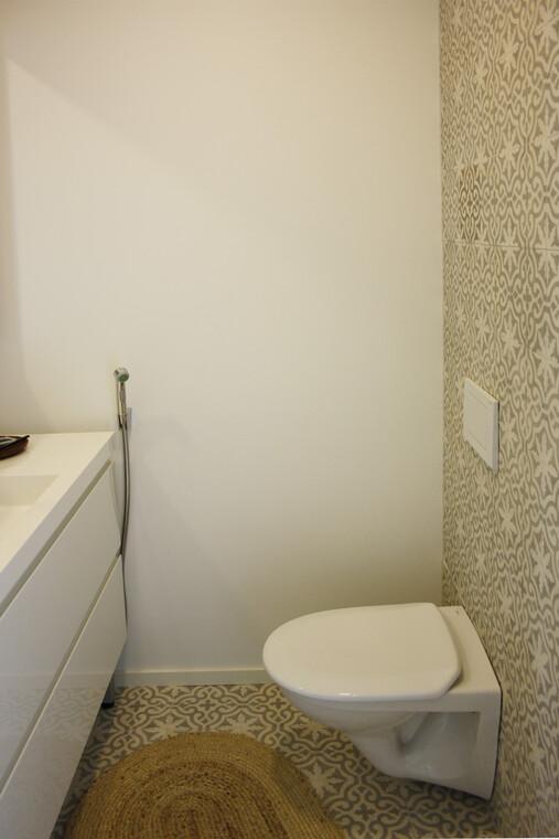 WC kohteessa Villa Muurame, Asuntomessut 2014 Jyväskylä
