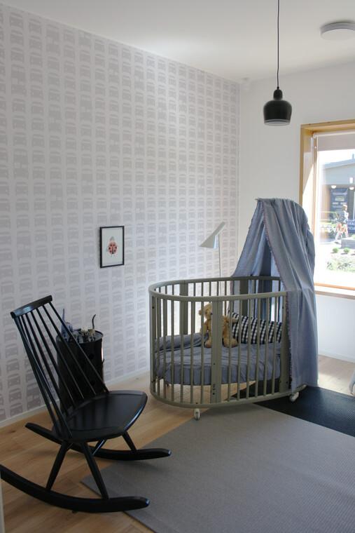 Lastenhuone kohteessa Lakka Kivitalot Heikkinen, Asuntomessut 2014 Jyväskylä