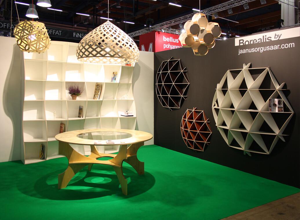 Kookkaita geometrisia muotoja kodin sisustukseen, Habitare 2014