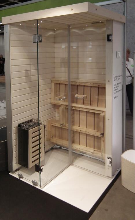 Kompakti kylpyhuonesauna, Habitare 2014