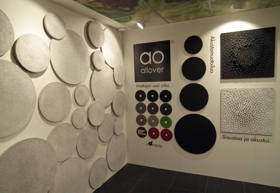 Modernia designia tilan äänimaailman parhaaksi, Habitare 2014