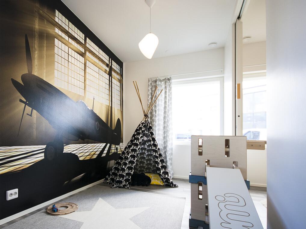 Lastenhuone kohteessa Terca Tiger, Asuntomessut 2015 Vantaa