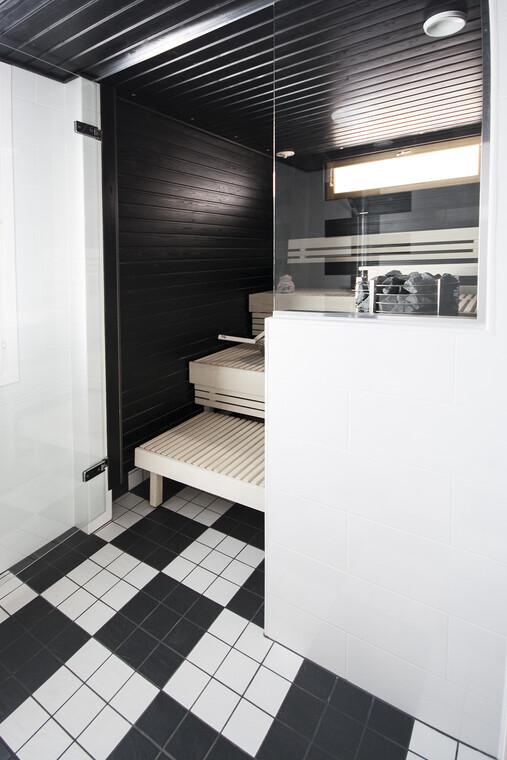 Sauna kohteessa Deko 192, Asuntomessut 2015 Vantaa