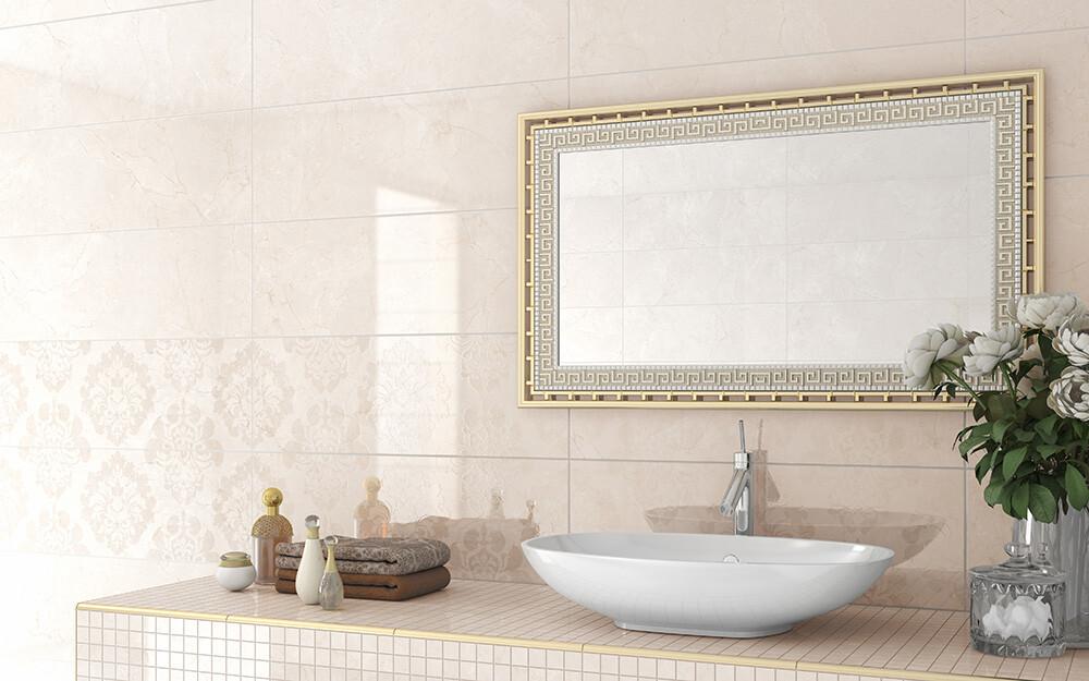 Kauniilla laatoilla luksusta kylpyhuoneeseen