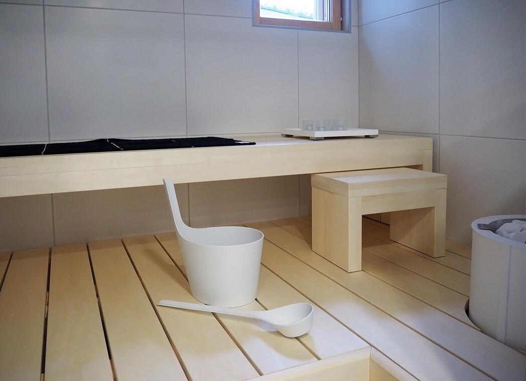 Sauna kohteessa Cubo, Asuntomessut 2016 Seinäjoki