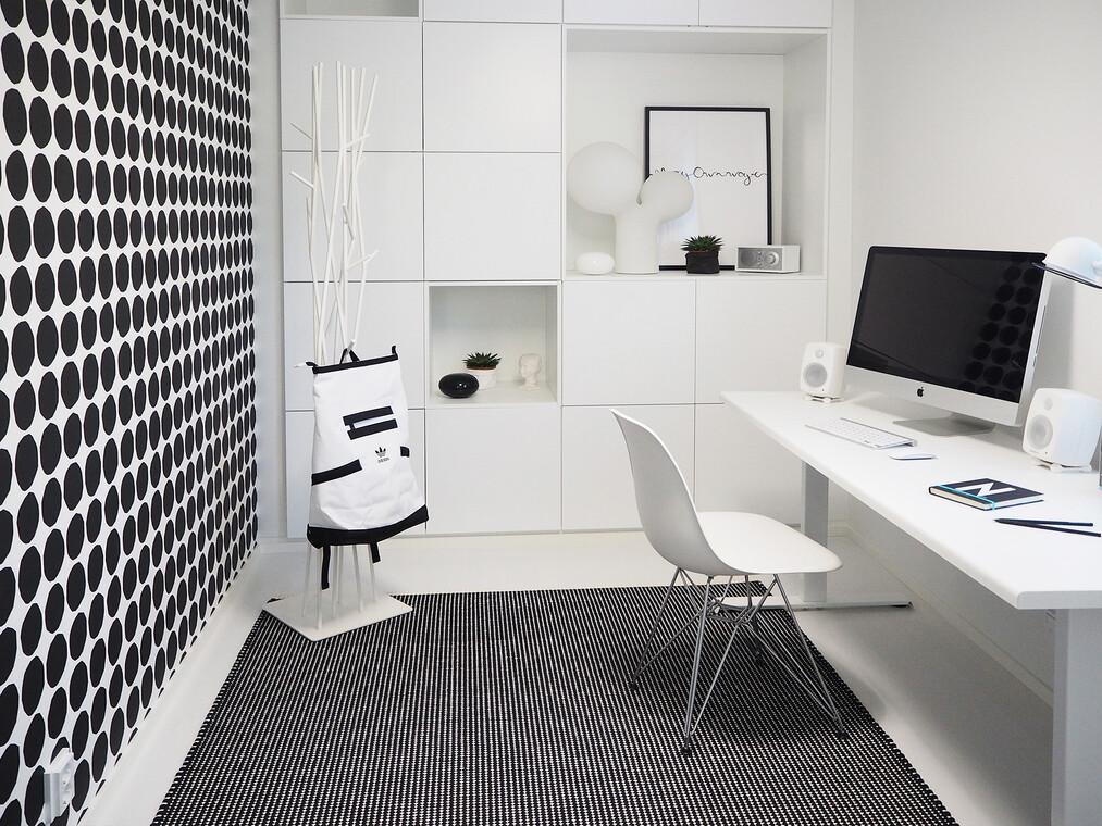 Työhuone kohteessa Cubo, Asuntomessut 2016 Seinäjoki