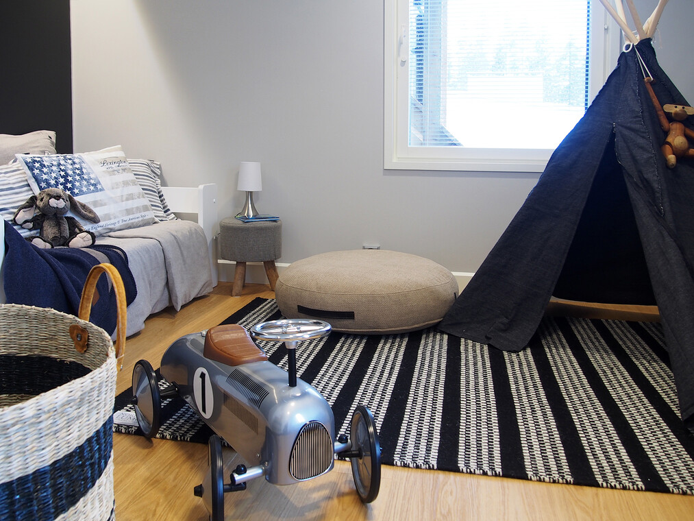 Lastenhuone kohteessa Lumiance, Asuntomessut 2016 Seinäjoki