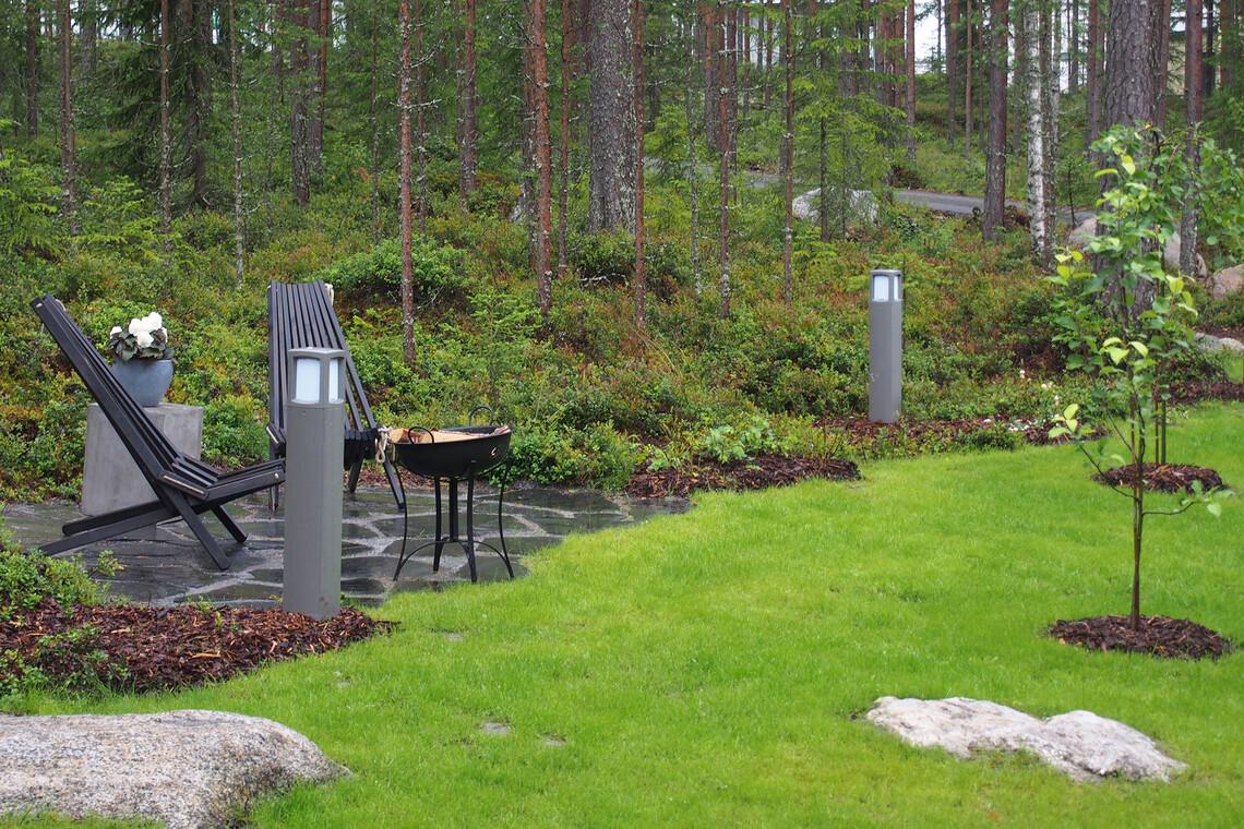 Piha kohteessa Lumiance, Asuntomessut 2016 Seinäjoki