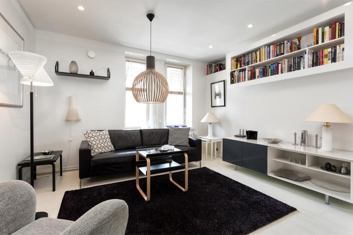 Kotimaista designia olohuoneessa