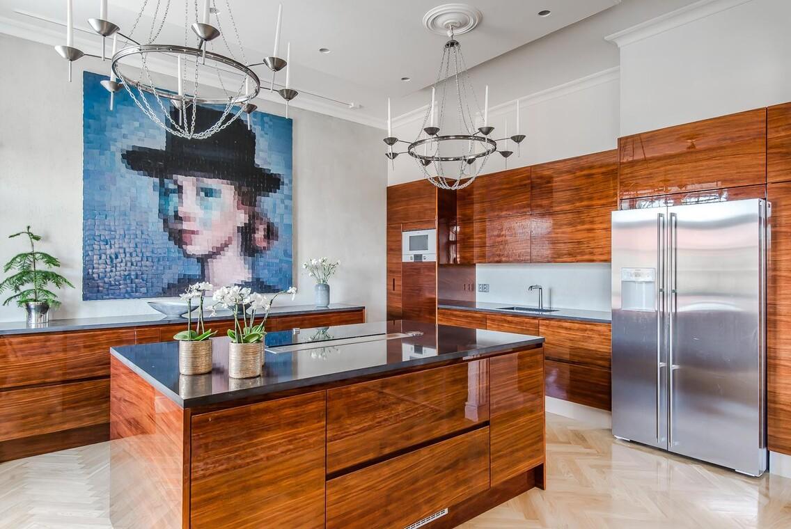 Taidetta modernissa keittiössä