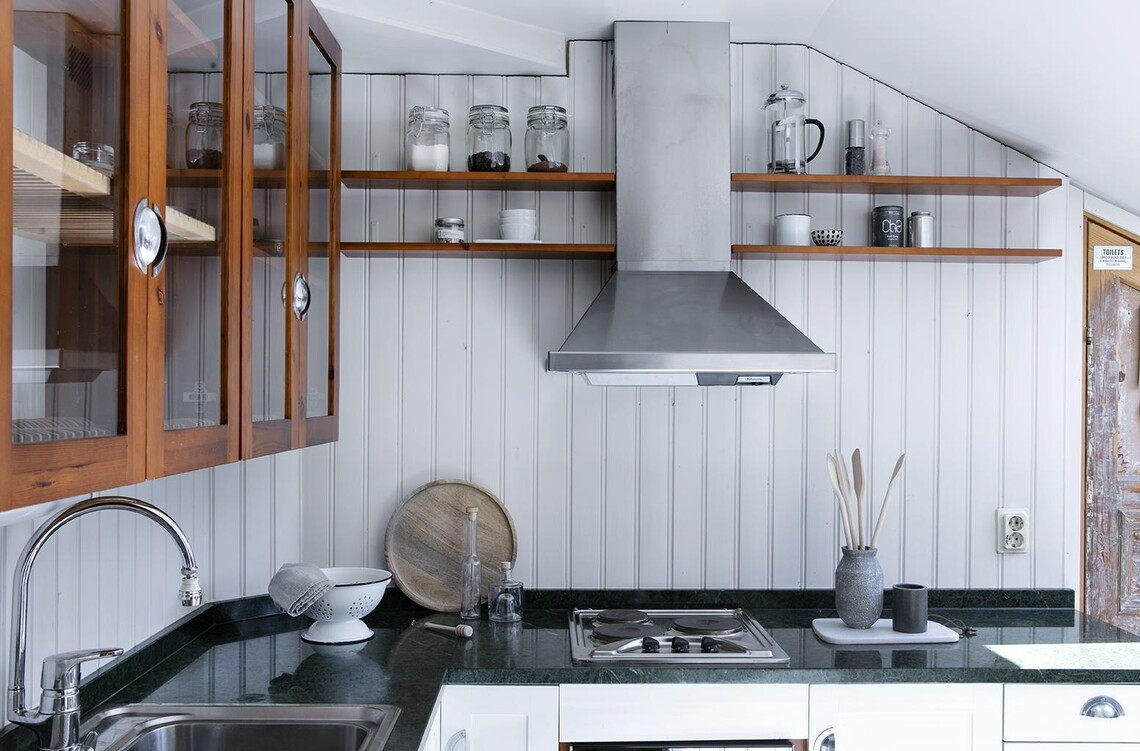 Kaksion kaunis keittiö