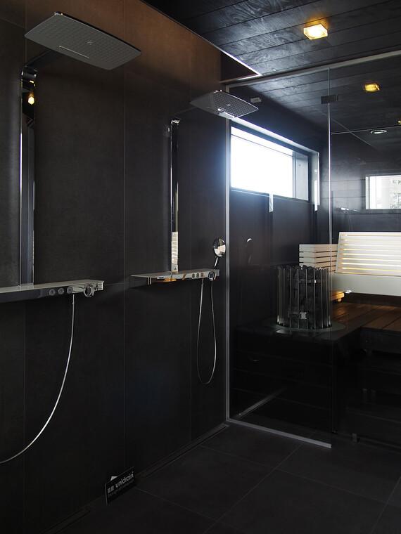 Kylpyhuone kohteessa Lakka Lakeus, Asuntomessut 2016 Seinäjoki