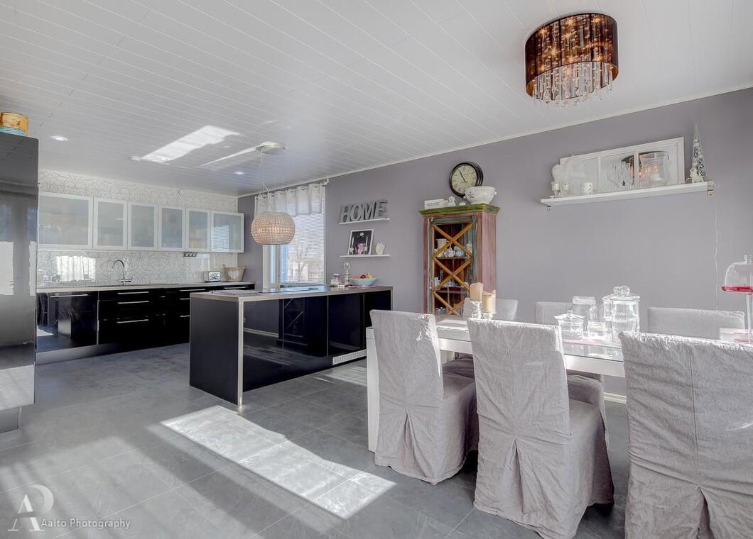 Hempeää ja modernia keittiössä