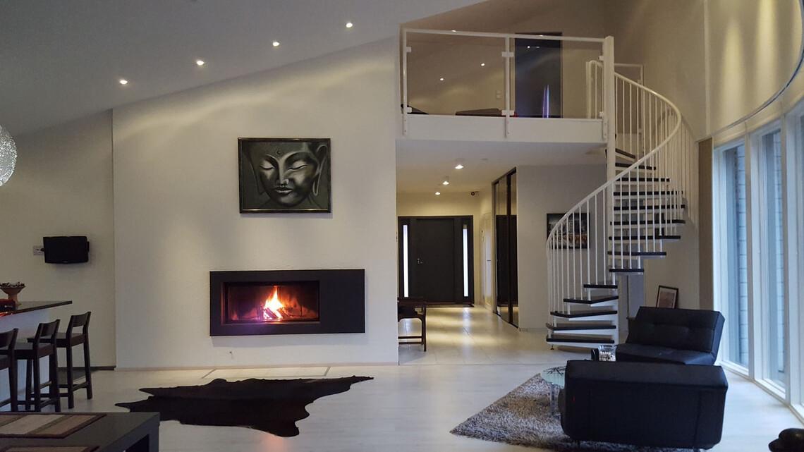 Tyylikästä tunnelmaa modernissa kodissa