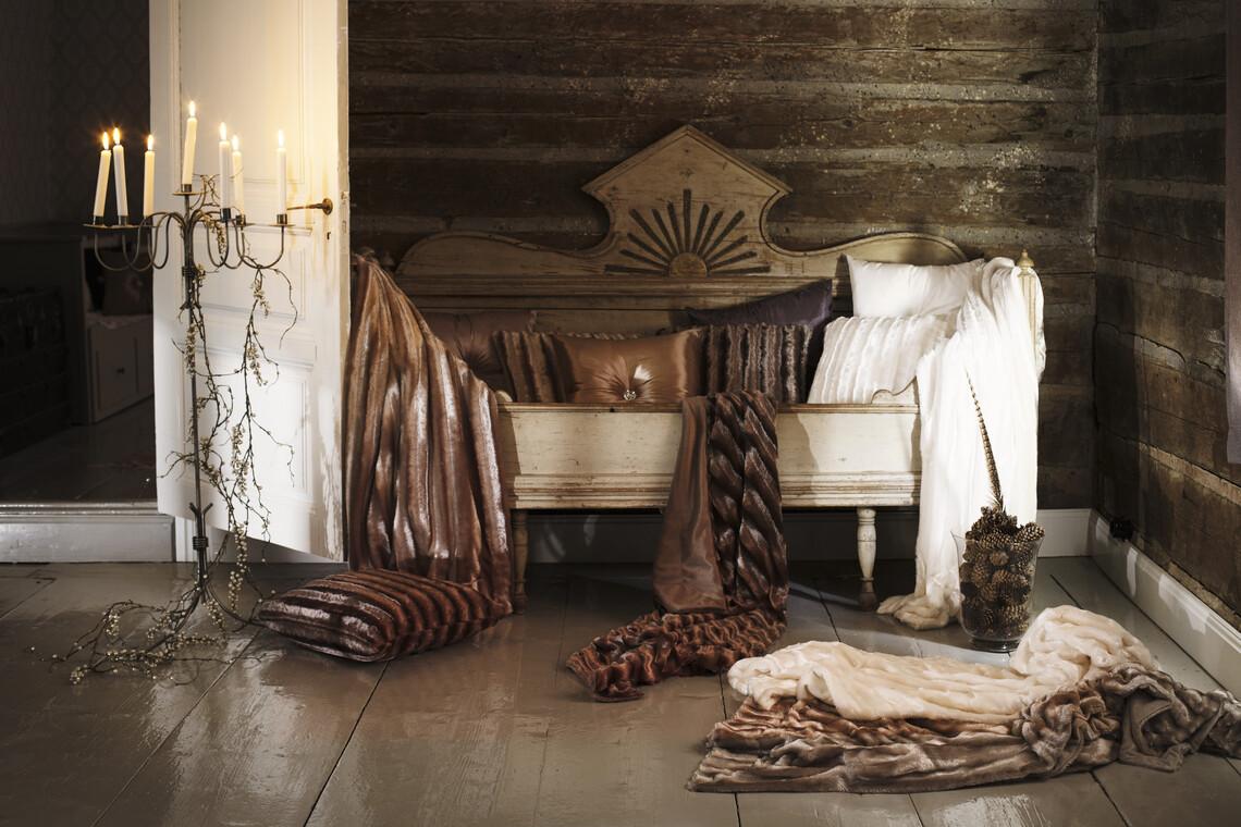 Ylelliset tekstiilit viimeistelevät sisustuksen