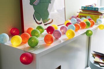 Piristävät pallovalot kodin sisustuksessa ja tunnelmallisessa valaistuksessa