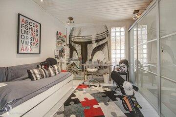 Moderni lastenhuone