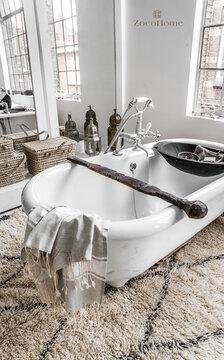 Marokkolaista eksotiikkaa kylpyhuoneen sisustuksessa