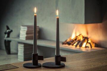 Luo kotiin tunnelmaa takkatulella ja kynttilöillä