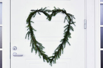 DIY joulukranssi – helppoa jouluaskartelua