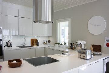Keittiö kohteessa Valkola, Asuntomessut 2014 Jyväskylä