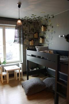 Lastenhuone kohteessa Viherperhe, Asuntomessut 2014 Jyväskylä