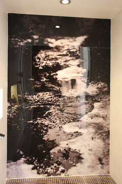Kylpyhuone kohteessa Lapplin Duo, Asuntomessut 2014 Jyväskylä