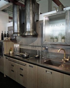 Teollista henkeä keittiössä, Habitare 2014
