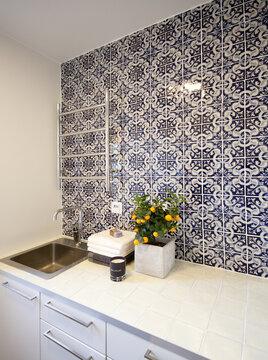 Kylpyhuone kohteessa Casa Del Limon, Asuntomessut 2015 Vantaa