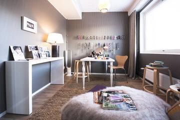 Työhuone kohteessa Spinelli A3, Asuntomessut 2015 Vantaa