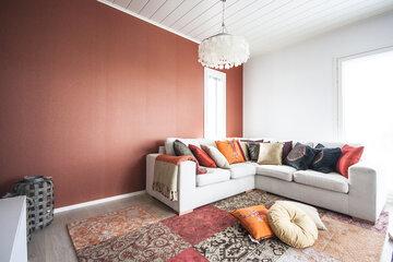 Olohuone kohteessa Villa Chili, Asuntomessut 2015 Vantaa