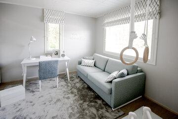 Työhuone kohteessa Deko 165, Asuntomessut 2015 Vantaa