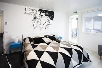 Makuuhuone kohteessa Deko 192, Asuntomessut 2015 Vantaa