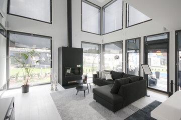 Olohuone kohteessa Villa Beauty, Asuntomessut 2015 Vantaa