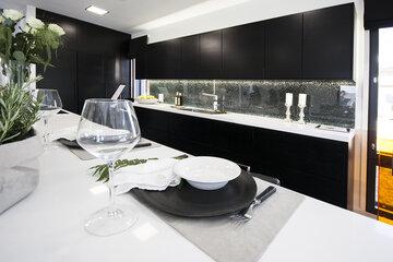 Keittiö kohteessa Villa Beauty, Asuntomessut 2015 Vantaa